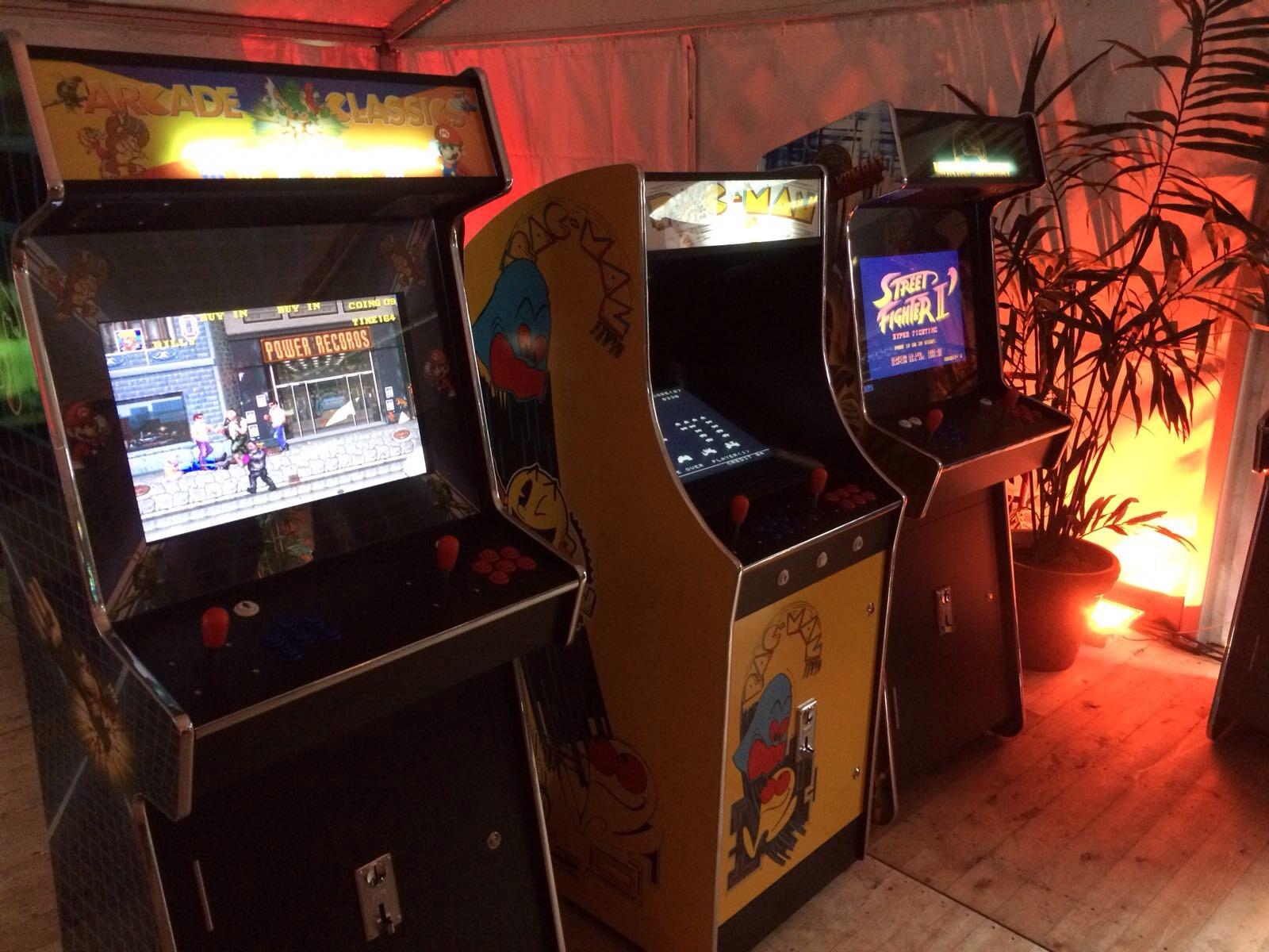 Arcade huren